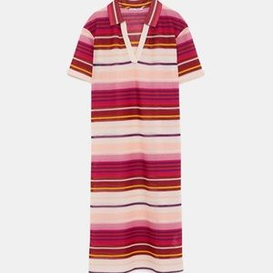 Zara Striped Dress | Coverup NWOT